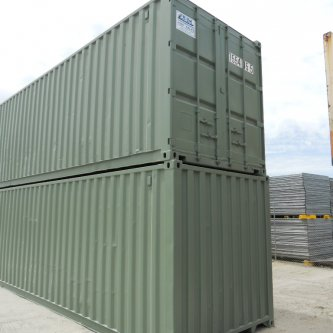 Used 40ft General Purpose Container side on view
